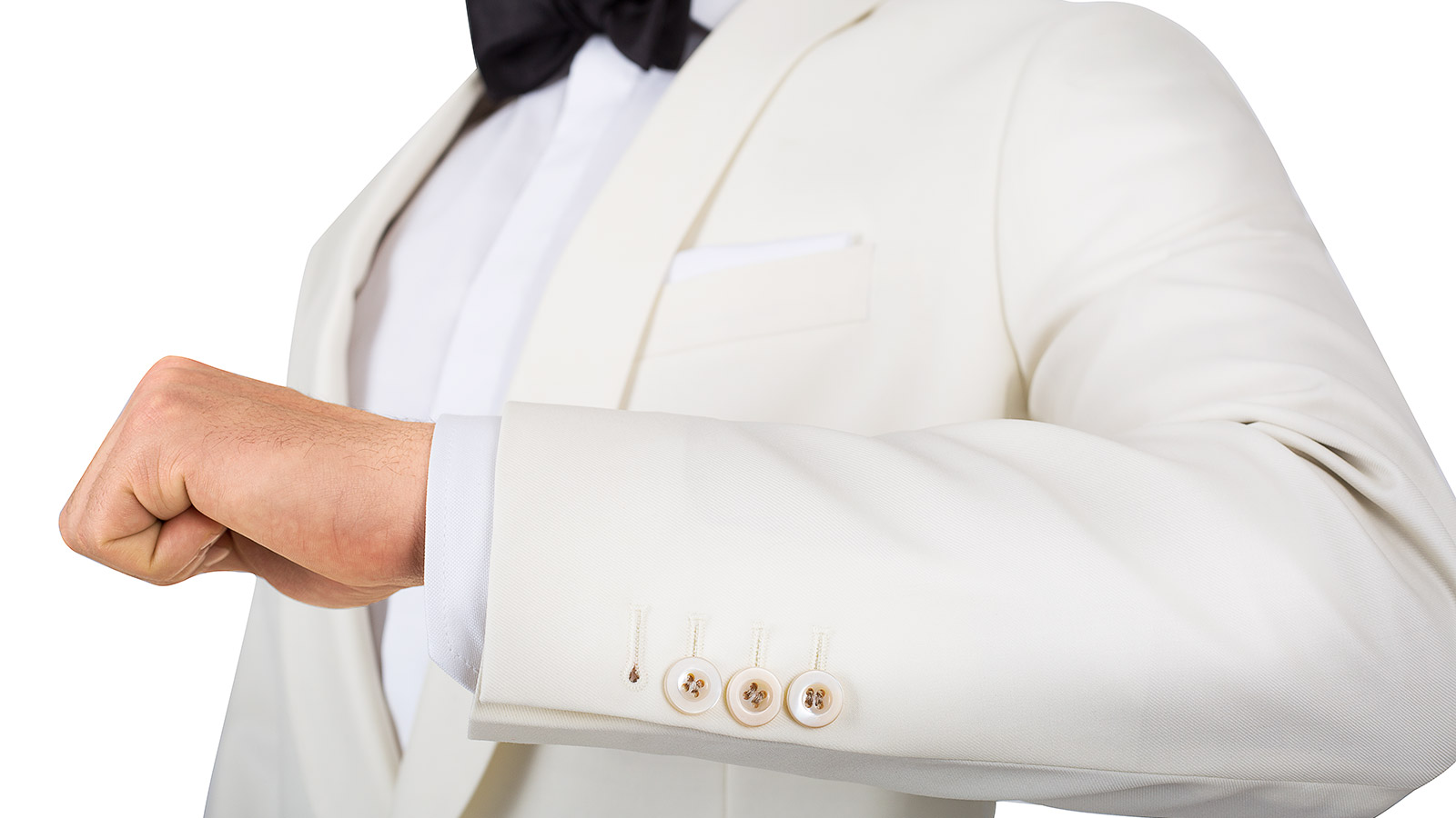 Ivory Dinner Suit - slider image 1
