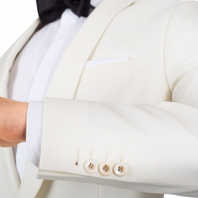 Ivory Dinner Suit - thumbnail image 1