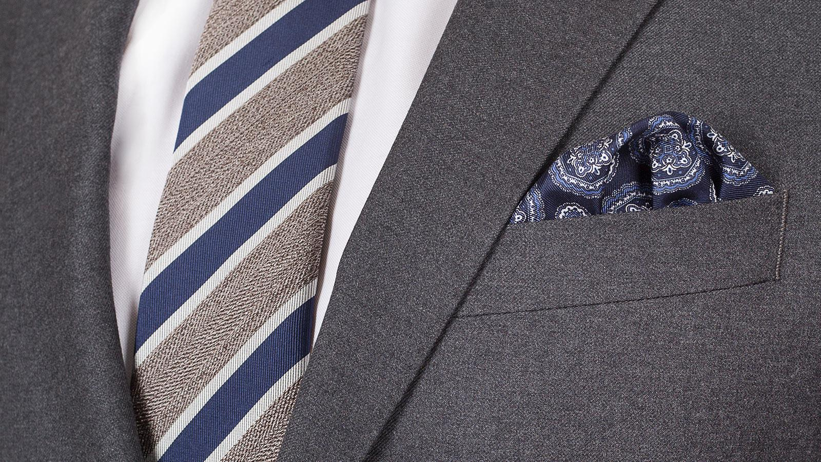 Solid Grey Suit - slider image 1