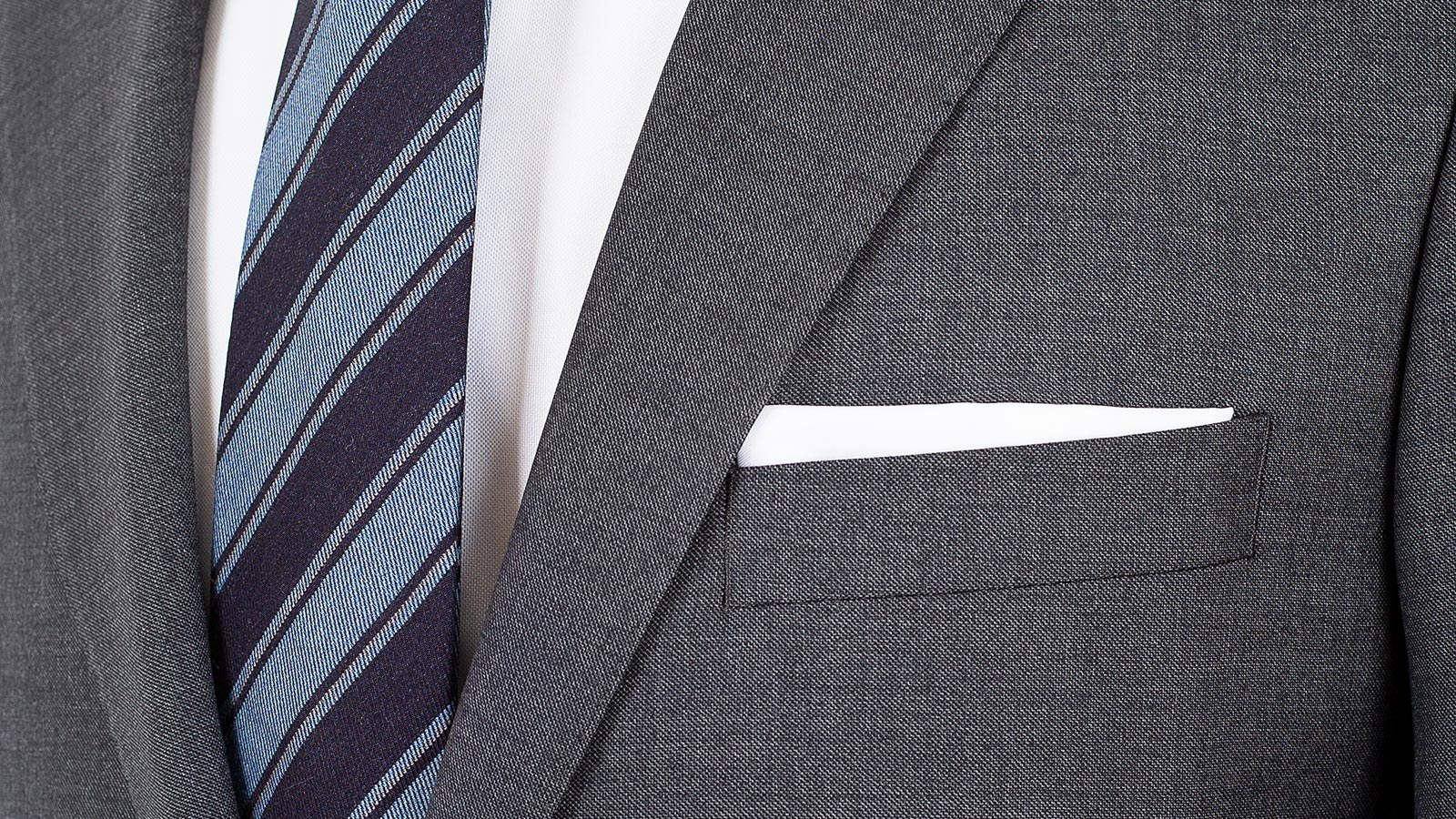 Dark Grey Pick & Pick Suit - slider image 1