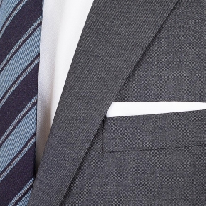 Dark Grey Pick & Pick Suit - thumbnail image 1