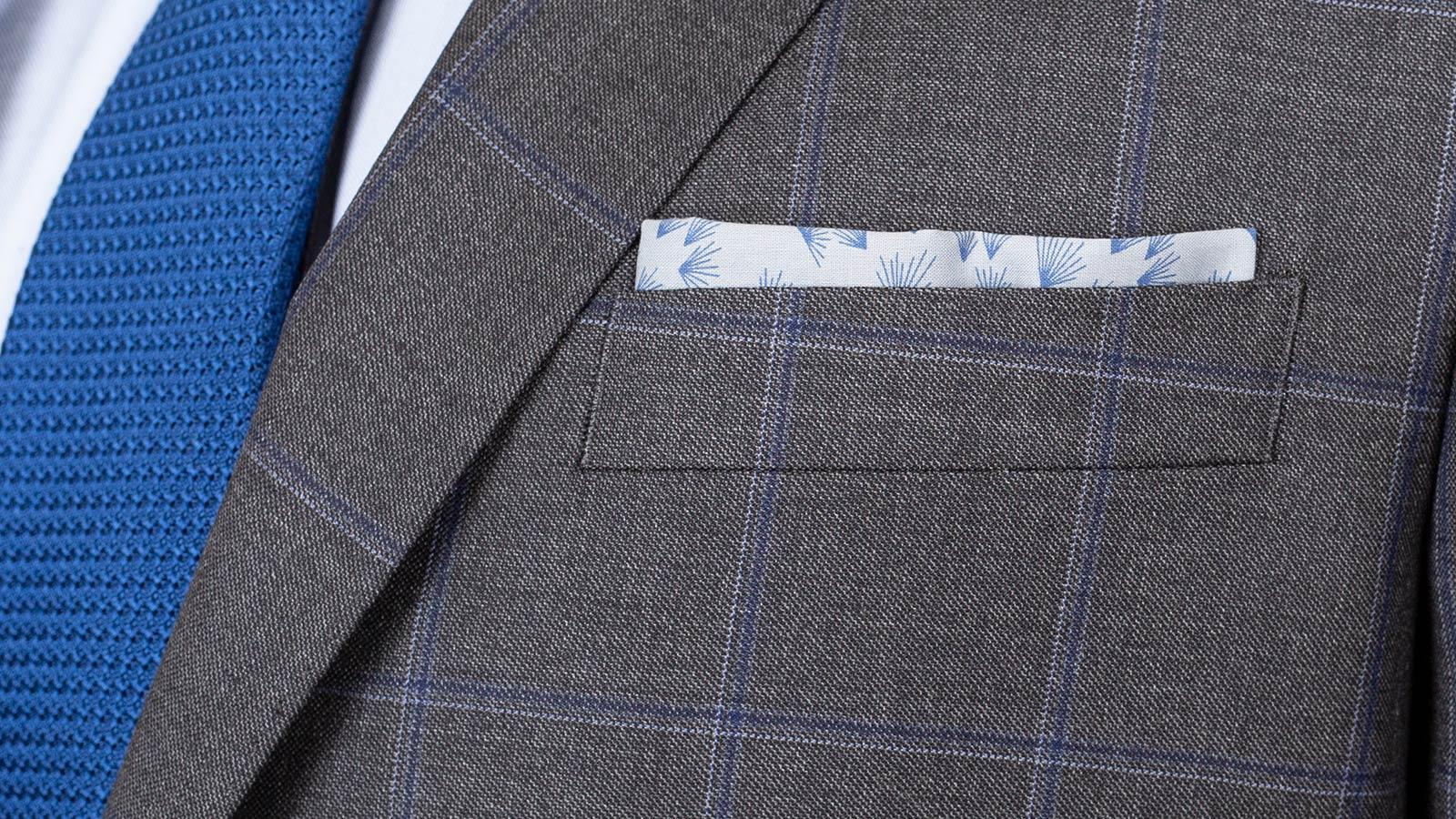 Grey Windowpane Pick & Pick Suit - slider image 1