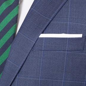 Sky Blue Windowpane Pick & Pick Suit - thumbnail image 2