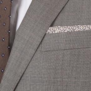 Warm Grey Pick & Pick Suit - thumbnail image 1