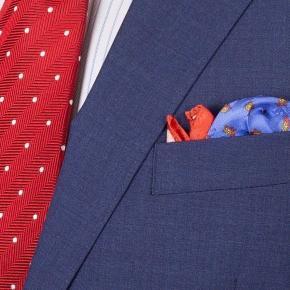 Tropical Rustic Blue Suit - thumbnail image 1