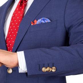 Tropical Rustic Blue Suit - thumbnail image 2