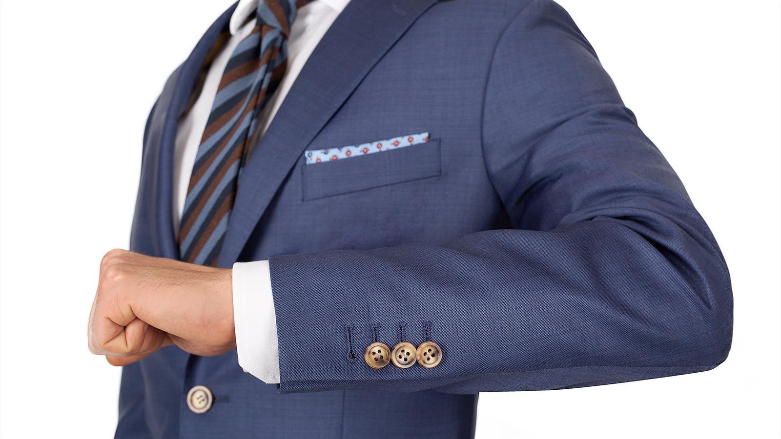 Sky Blue Pick & Pick Suit - slider image 1