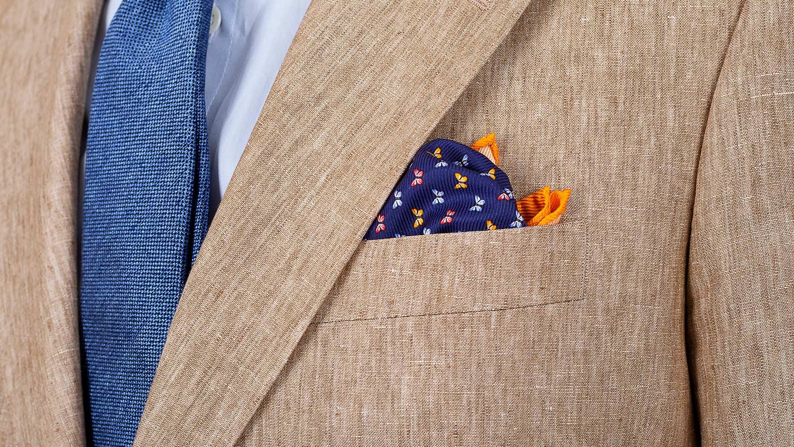 Sand Linen Suit - slider image 1