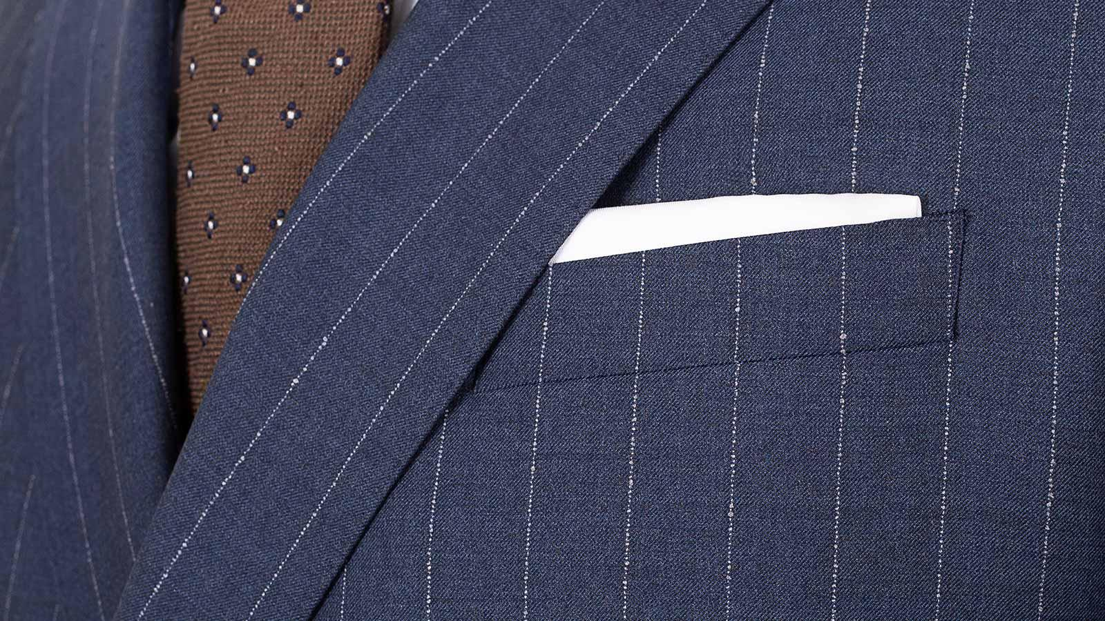 Vendetta Sky Blue Stripe Suit - slider image 1