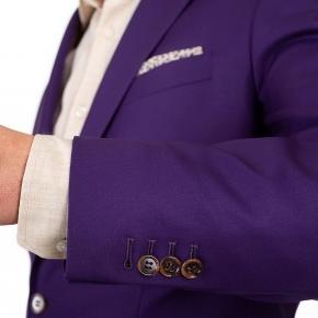 Solid Plum Suit - thumbnail image 1