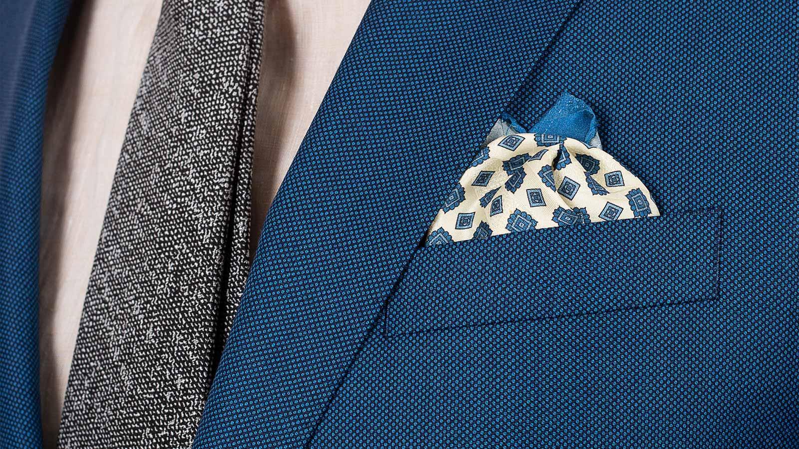 Teal Birdseye Suit - slider image 1