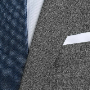 Grey Natural Stretch Suit - thumbnail image 2