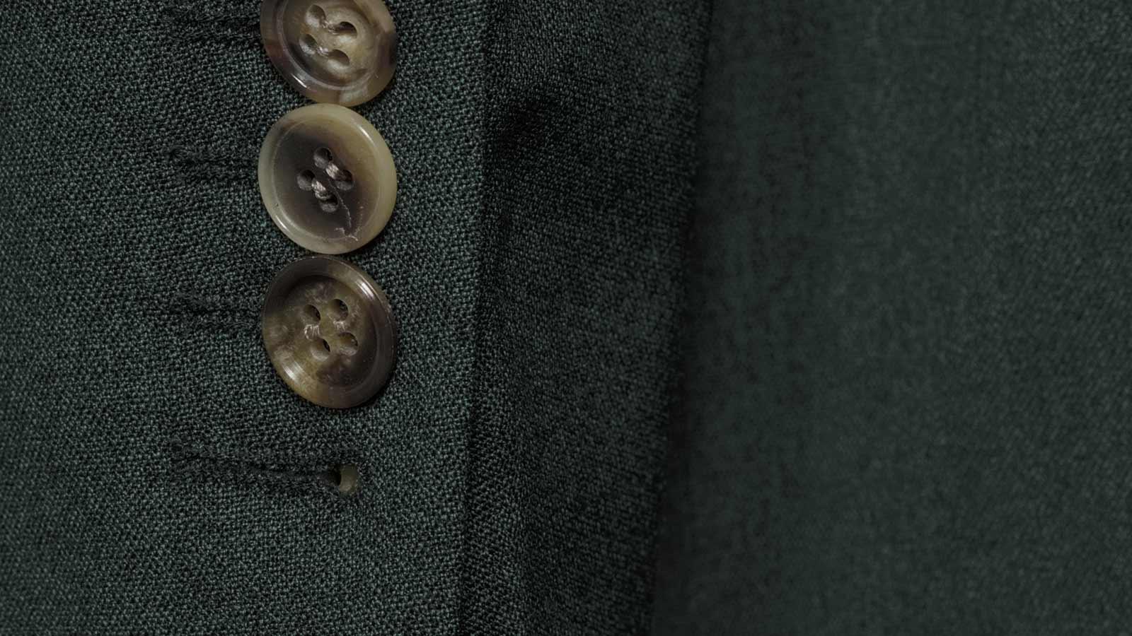 Green Natural Stretch Suit - slider image 1
