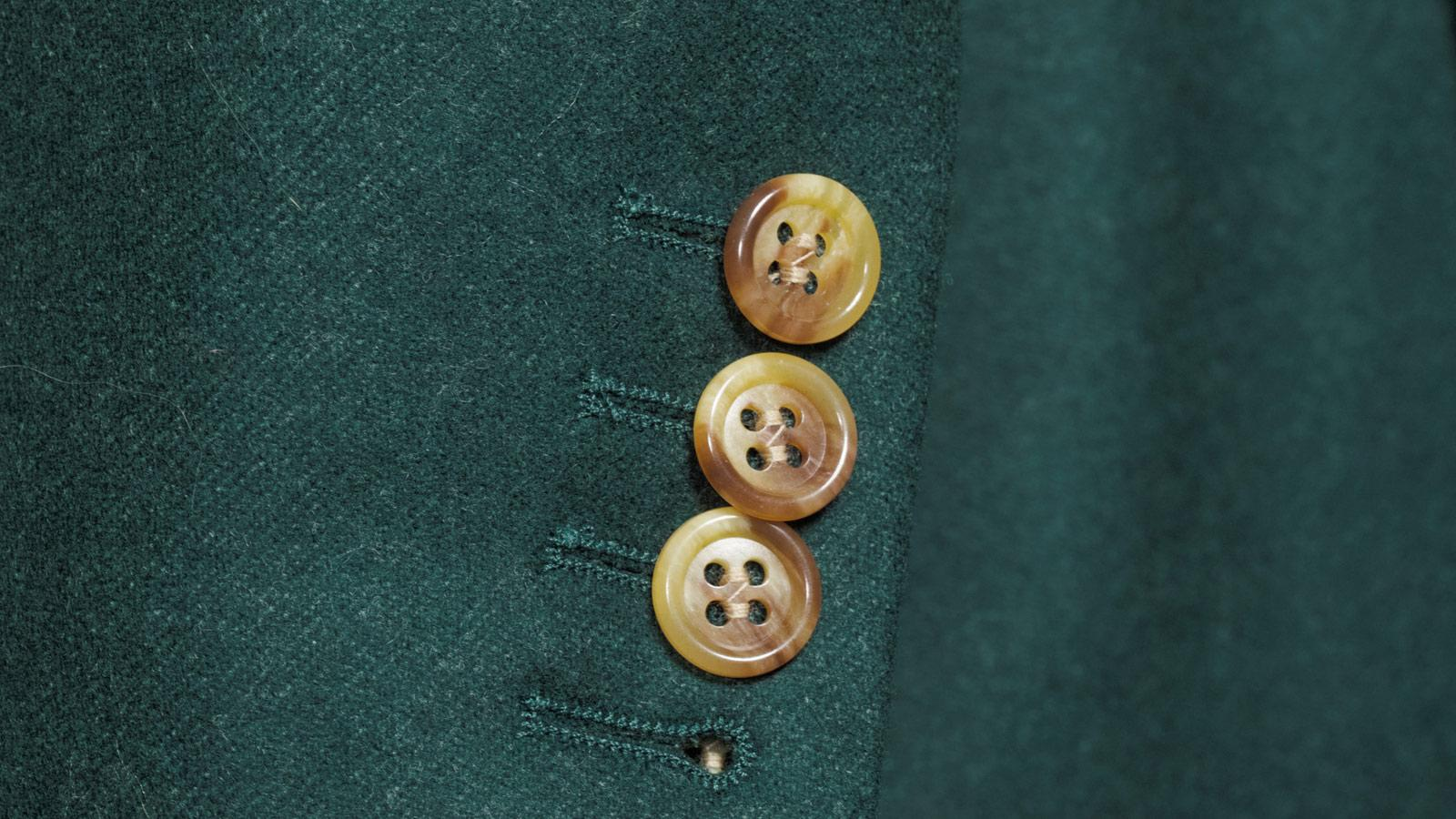 Green Wool Flannel Suit - slider image 1