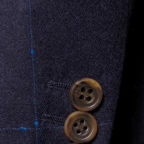 Blue Shadow Check Blazer - thumbnail image 2