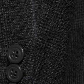 Charcoal Plaid With Navy Overcheck Blazer - thumbnail image 2