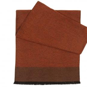 Copper Wool & Silk scarf - thumbnail image 1