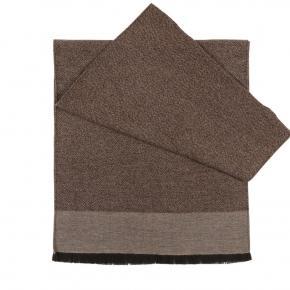 Beige Wool & Silk scarf - thumbnail image 1