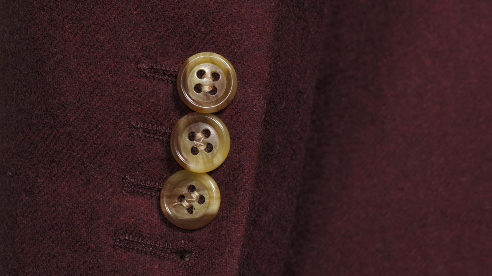 Burgundy Wool Flannel Suit - slider image 1