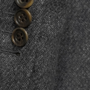 Grey Twill Wool & Cashmere suit - thumbnail image 2