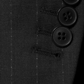 Sartoria Charcoal Pinstripe 160s Suit - thumbnail image 2