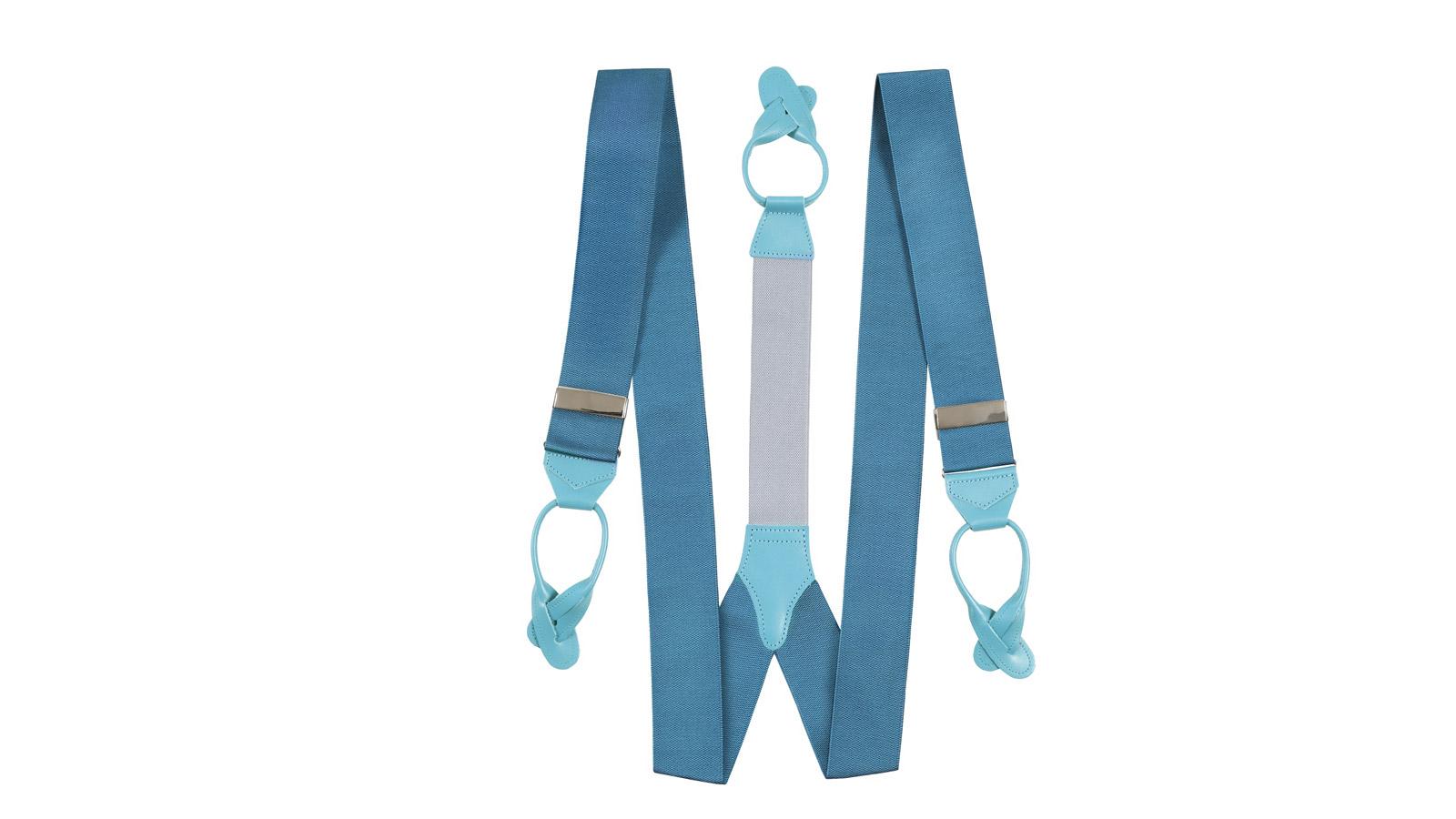 Antarctica Blue Suspenders - slider image