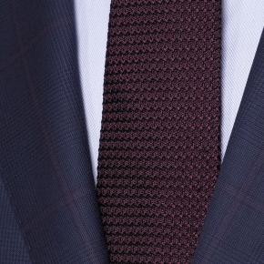 Vendetta Premium Lavender Check Navy Plaid Suit - thumbnail image 1