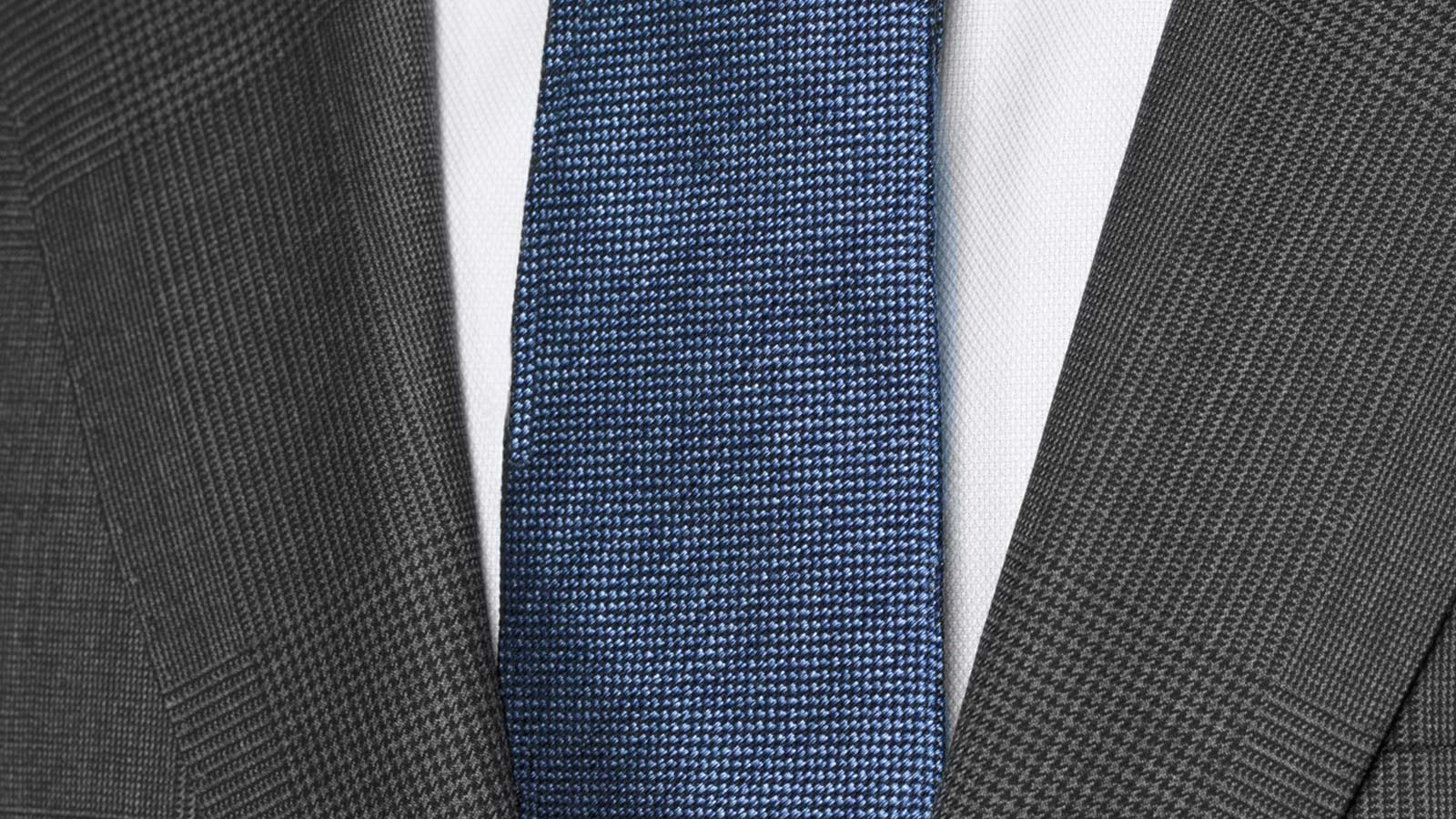 Vendetta Premium Charcoal Plaid Suit - slider image 1