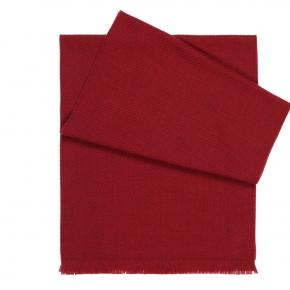 Solid Red Wool Scarf  - thumbnail image 1