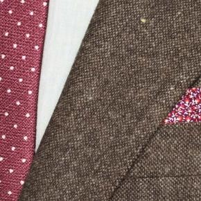 Natural Brown Tweed Suit - thumbnail image 1