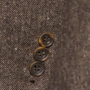 Suit in Natural Brown Tweed - thumbnail image 2