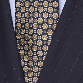 Sartorial Navy Pinstripe 160s Suit - thumbnail image 2