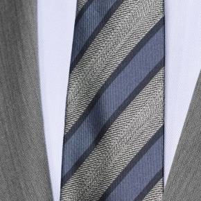 Vendetta Premium Grey Herringbone Suit - thumbnail image 1