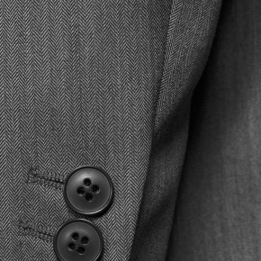 Vendetta Premium Grey Herringbone Suit - thumbnail image 2