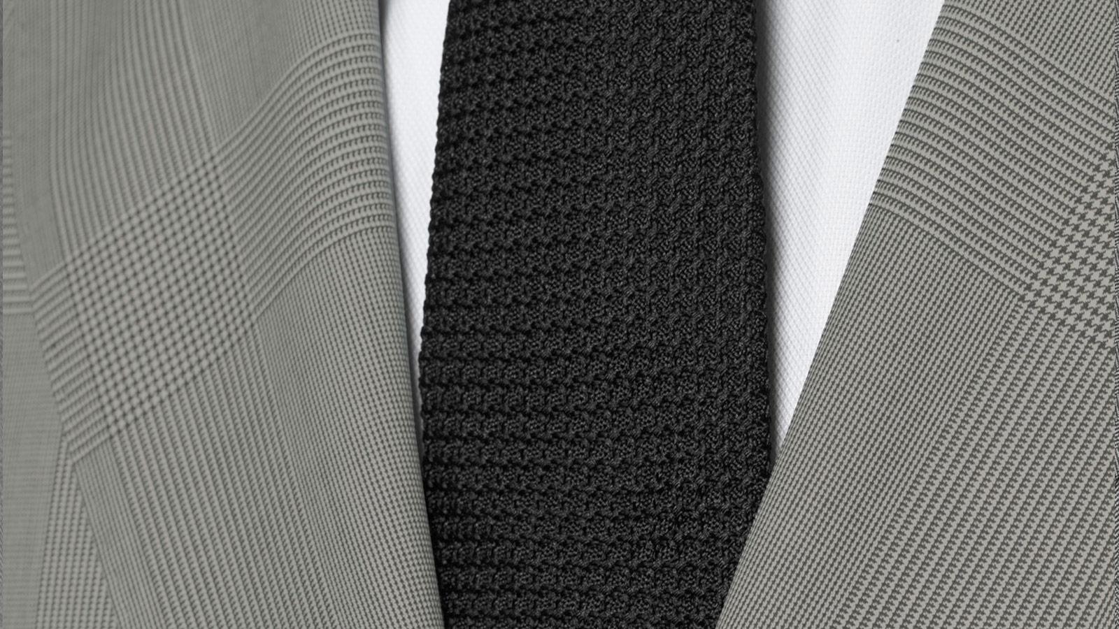 Vendetta Premium Grey Prince of Wales Check Suit - slider image 1