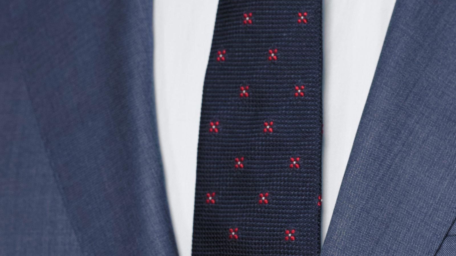 Vendetta Premium Steel Blue Pick & Pick Suit - slider image 1