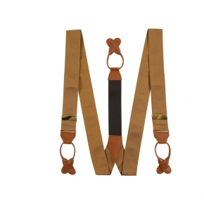 Almond Beige Suspenders - thumbnail image 1