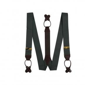 Dark Green Suspenders - thumbnail image 1