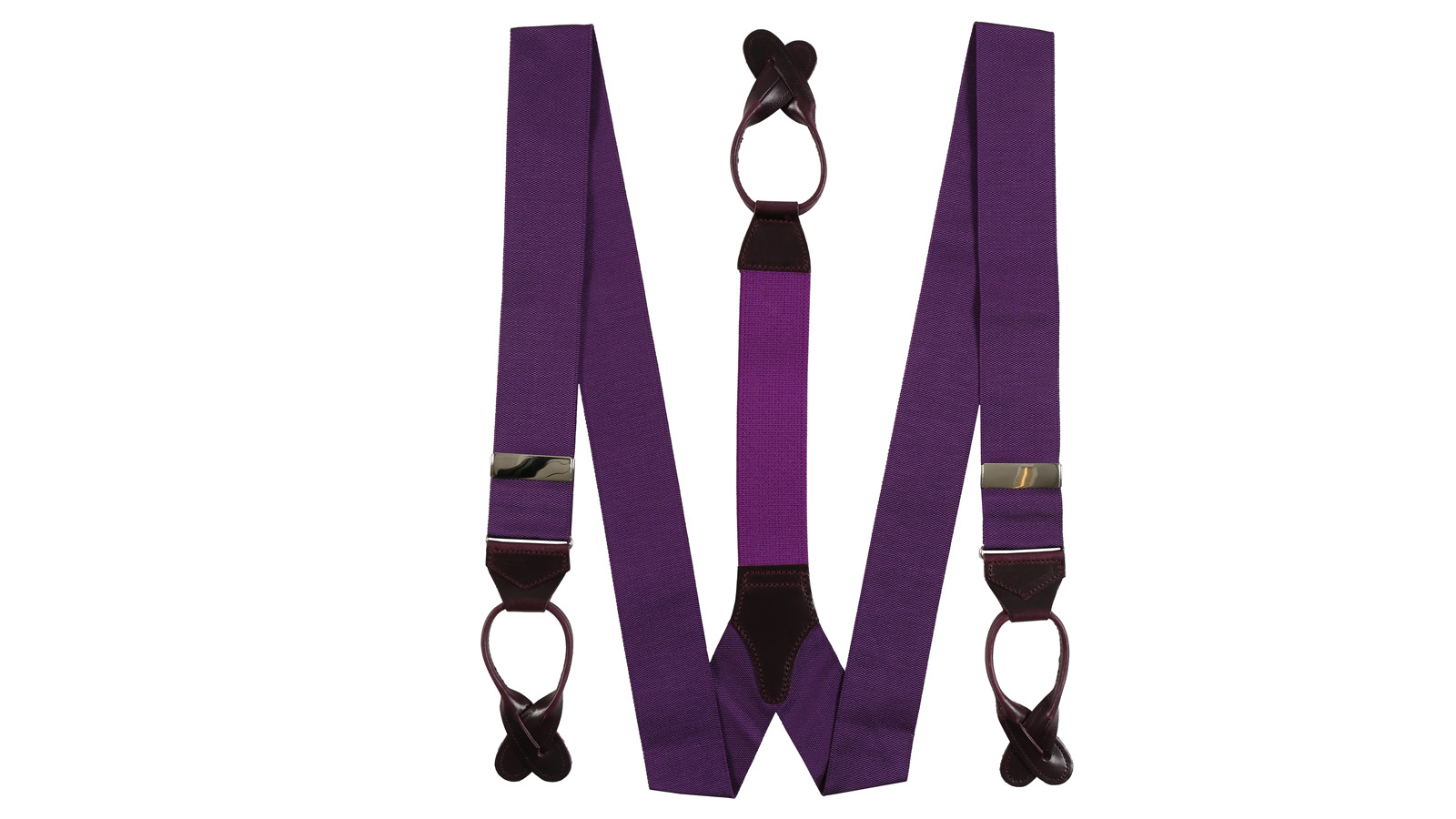Corinth Purple Suspenders - slider image