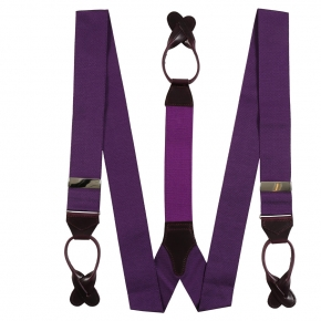 Corinth Purple Suspenders - thumbnail image 1