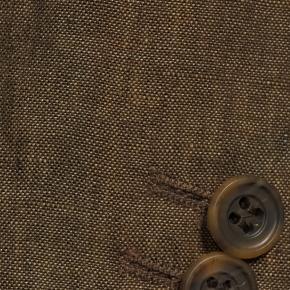 Natural Brown Linen Suit - thumbnail image 1