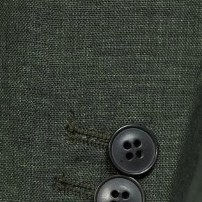 Forest Green Linen Suit - thumbnail image 1