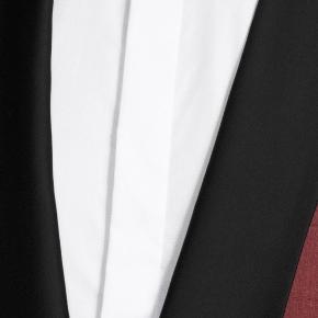 Intense Ruby Red Linen Tuxedo - thumbnail image 1