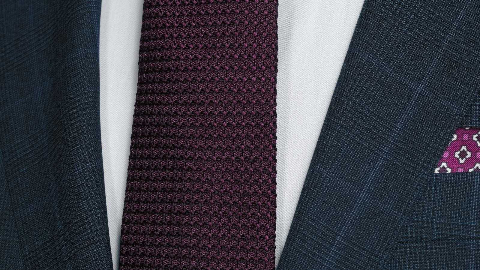 Tropical Rustic Royal Blue Plaid Suit - slider image 1