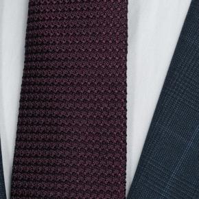 Tropical Rustic Royal Blue Plaid Suit - thumbnail image 1