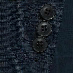 Tropical Rustic Royal Blue Plaid Suit - thumbnail image 2