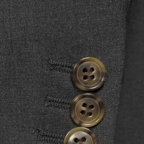 Solid Grey Natural Stretch Suit - thumbnail image 2