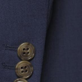 Solid Blue Natural Stretch Suit - thumbnail image 2