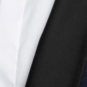 Blue Sharkskin Tuxedo - thumbnail image 1