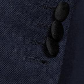 Blue Sharkskin Tuxedo - thumbnail image 2